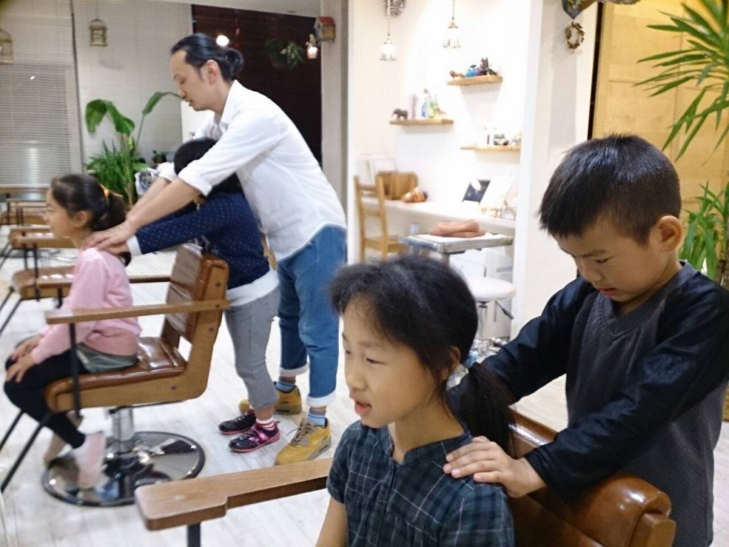 美容師体験20151119-2